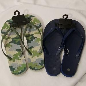 Other - Men's Flip Flops Bundle of 2